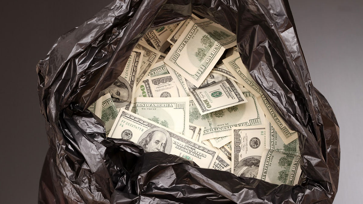 White oil sheets waste money
